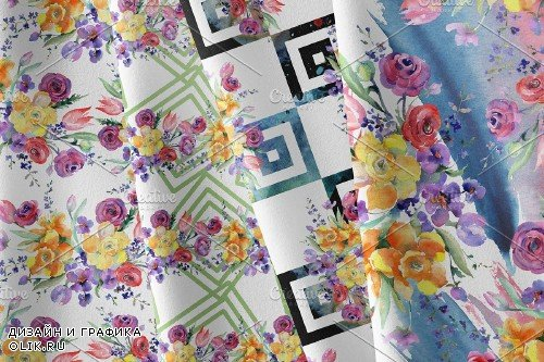 Bouquet flowers colorful mix - 4104034