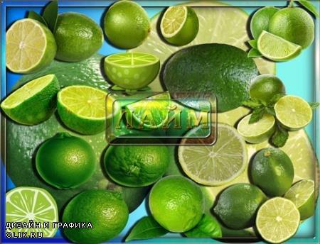 Cliparts - Зеленый лайм