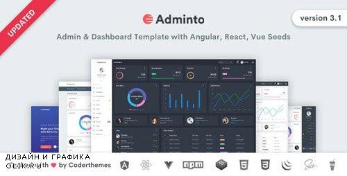 ThemeForest - Adminto v3.1 - Admin Dashboard Template - 15025393