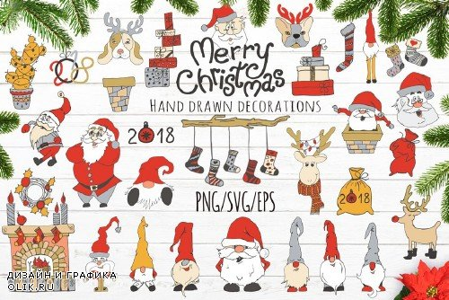 Merry Christmas set - 2006255