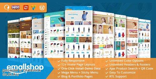 ThemeForest - EmallShop v2.2.5 - Responsive WooCommerce WordPress Theme - 18513022 -