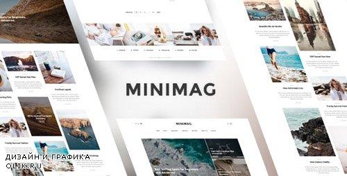 ThemeForest - MINIMAG v1.0.0 - Magazine & Blog HTML Template - 20604709