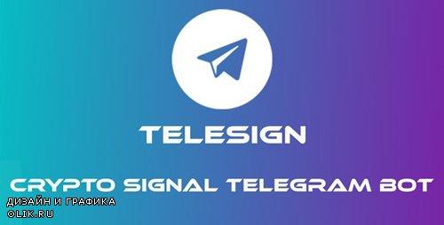 CodeCanyon - TeleSign v1.0 - Crypto Signal Telegram Bot - 23029036 -