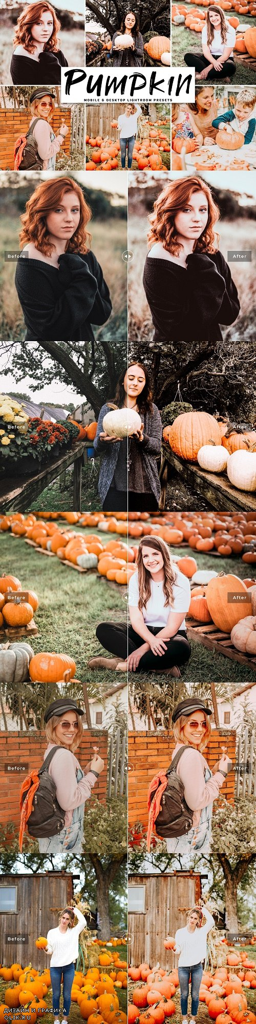 Pumpkin Lightroom Presets Pack - 4134947==