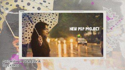Проект ProShow Producer - Ink Slideshow BD