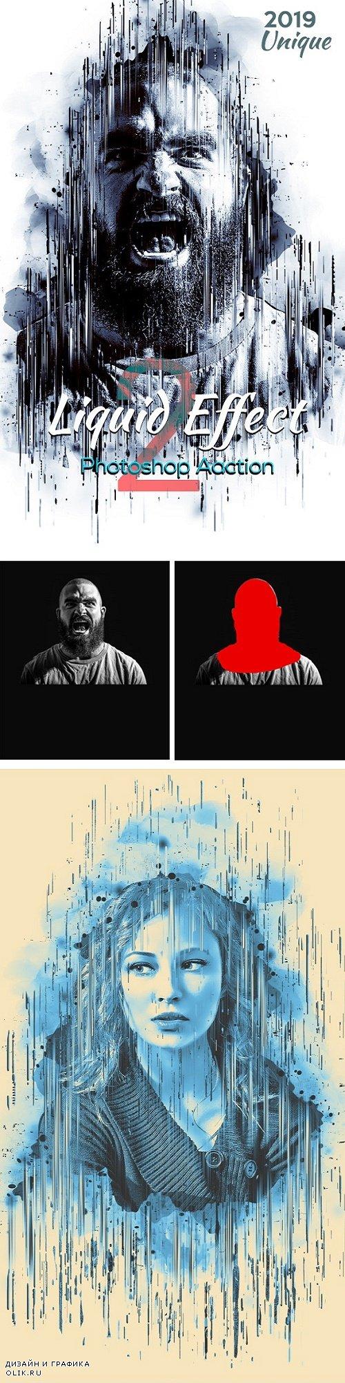 Liquid Effect Photoshop Action 2 24470006