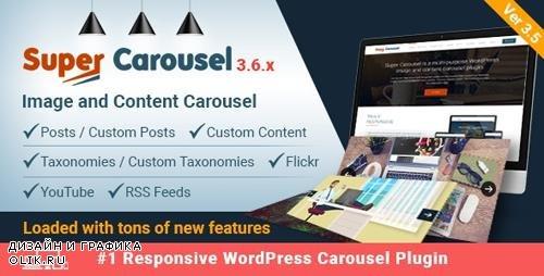 CodeCanyon - Super Carousel v3.6.2 - Responsive Wordpress Plugin - 4505016