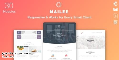 ThemeForest - Mailee v1.0 - Responsive Multipurpose Email Template - 24730977