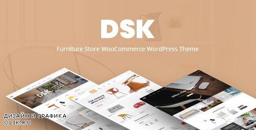 ThemeForest - DSK v1.3 - Furniture Store WooCommerce WordPress Theme - 22304576