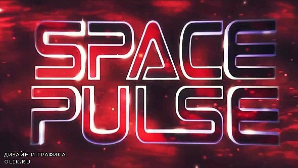 SpacePulse Title 294218 - After Effects Templates