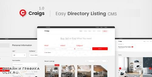 CodeCanyon - Craigs v1.0.1 - Classified Ads CMS Theme - 22431565 - NULLED