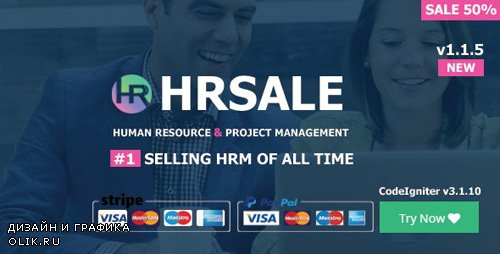 CodeCanyon - HRSALE v1.1.5 - The Ultimate HRM - 21665619