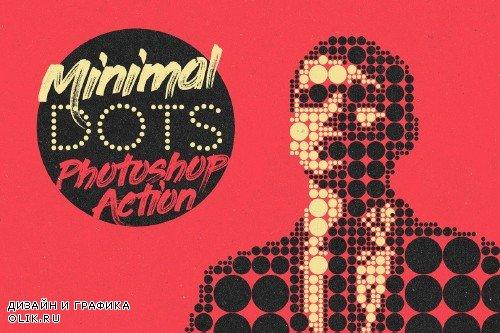 Minimal Dots Photoshop Action - 4079709