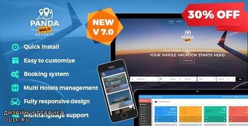 CodeCanyon - Panda Multi Resorts v7.0.6 - Booking CMS for Multi Hotels - 14084137