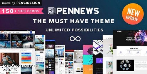 ThemeForest - PenNews v6.5.6 - Multi-Purpose AMP WordPress Theme - 20822517 - NULLED