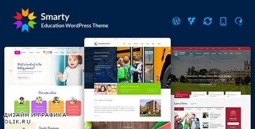 ThemeForest - Smarty v3.1.1 - School Kindergarten WordPress theme - 15709416
