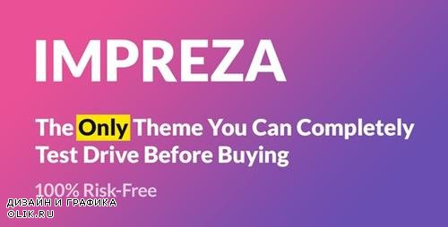 ThemeForest - Impreza v6.5 - Multi-Purpose WordPress Theme - 6434280 - NULLED