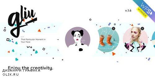 ThemeForest - Gliu v1.6.2 - Enjoy The Creativity - WordPress Theme - 21965157