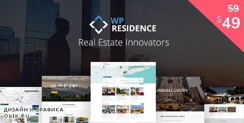ThemeForest - WP Residence v2.0.0 - Residence Real Estate WordPress Theme - 7896392 - NULLED