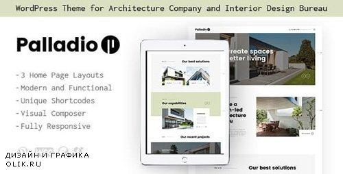ThemeForest - Palladio v1.1.2 - Interior Design & Architecture Construction WordPress Theme - 20830679