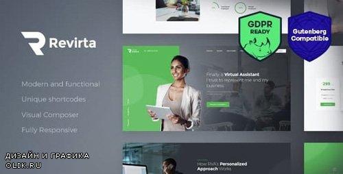 ThemeForest - Revirta v1.2.3 - Personal Virtual Assistant & Secretary WordPress Theme - 21254345