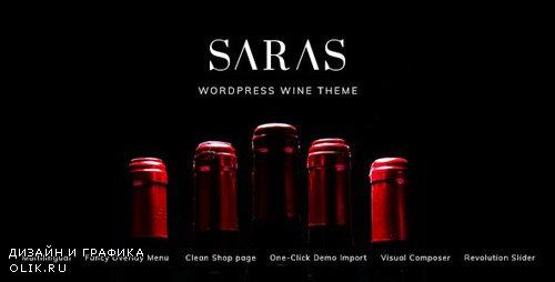 ThemeForest - Saras v1.1 - Wine WordPress Theme - 23927529
