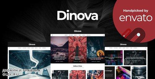 ThemeForest - Dinova v1.4.1 - Alternative Magazine Gutenberg Theme - 22861622
