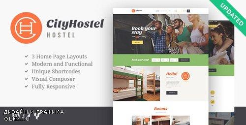 ThemeForest - City Hostel v1.0.5 - A Travel & Hotel Booking WordPress Theme - 19613231
