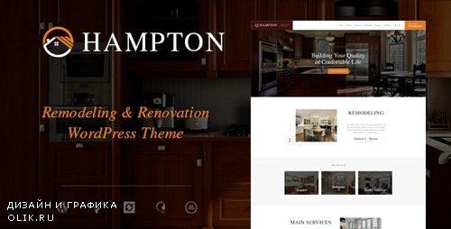 ThemeForest - Hampton v1.1.4 - Home Design and House Renovation WordPress Theme - 19217437