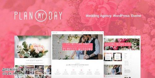 ThemeForest - Plan My Day v1.1.4 - Wedding / Event Planning Agency WordPress Theme - 17501688