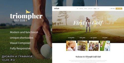ThemeForest - Triompher v1.1.0 - Golf Course & Sports Club WordPress Theme - 20918049