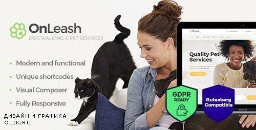 ThemeForest - OnLeash v1.3 - Dog Walking & Pet Services Veterinary WordPress Theme - 20470909
