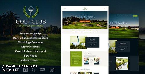 ThemeForest - Golf Club v1.4.3 - Sports & Events WordPress Theme - 16138288
