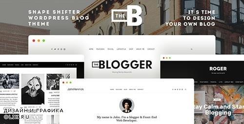 ThemeForest - TheBlogger v1.9.9 - WordPress Theme - 15832662