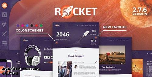 ThemeForest - Rocket v2.7.6 - Creative Multipurpose WordPress Theme - 15093803