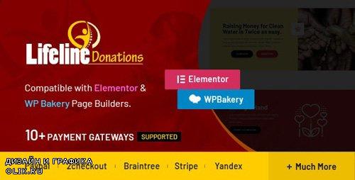CodeCanyon - Lifeline Donations v1.2.0 - Multidimensional WordPress Donations Plugin - 24102147