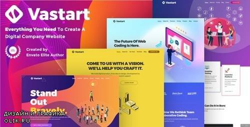 ThemeForest - Vastart v1.2.14 - Digital Company & Startup WordPress Theme - 24214655