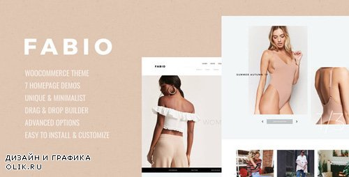 ThemeForest - Fabio v1.8 - WooCommerce Shopping Theme - 20806028