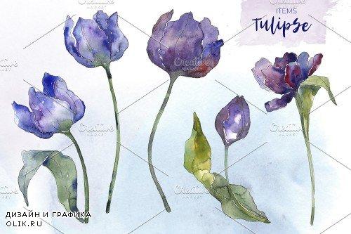 Bouquet of flowers blue penny lane - 4160473