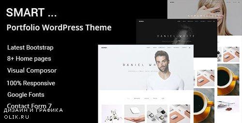 ThemeForest - Smart v1.0.0 - Minimal Portfolio WordPress Theme - 19646857