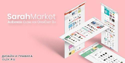 ThemeForest - SarahMarket v1.0.1 - Large Store OpenCart Theme - 21664795