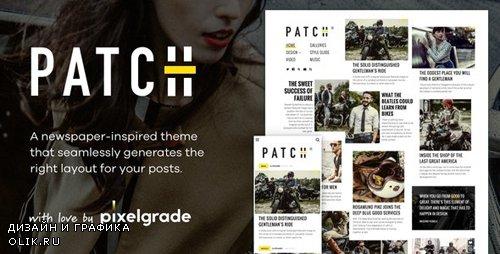 ThemeForest - Patch v1.4.4 - Unconventional Newspaper-Like Blog Theme - 23829583