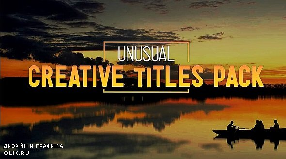 Unusual Creative Titles 4k 278851 - After Effects Templates