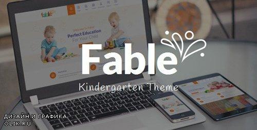 ThemeForest - Fable v3.4 - Children Kindergarten WordPress Theme - 9294431