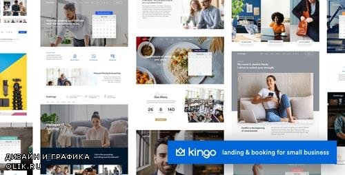 ThemeForest - Kingo v1.3.1 - Booking WordPress for Small Business - 23385668 - NULLED