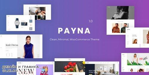 ThemeForest - Payna v1.0.4 - Clean, Minimal WooCommerce Theme - 23469811