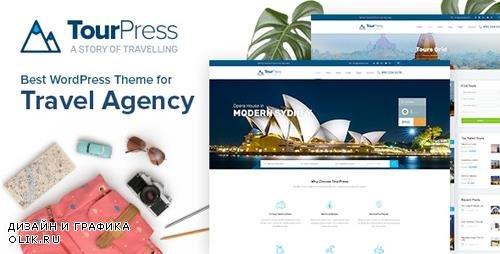 ThemeForest - TourPress v1.1.4 - Travel Booking WordPress Theme - 22395330