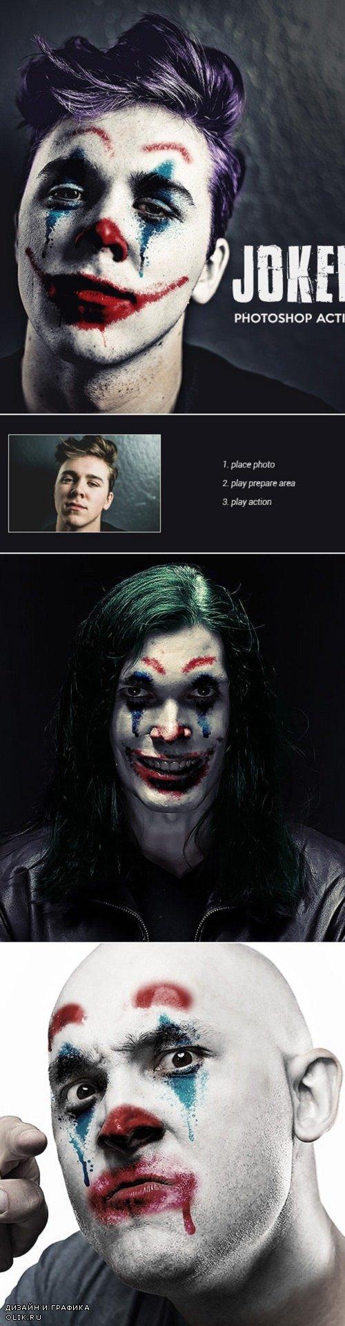 Joker - Photoshop Action 24686406