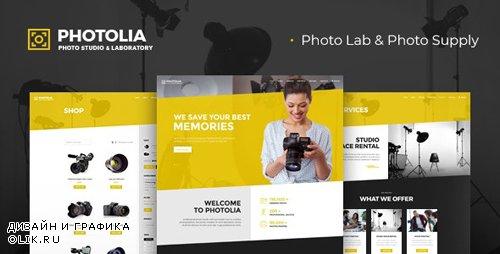 ThemeForest - Photolia v1.0.3 - Photo Company & Supply Store WordPress Theme - 23188380