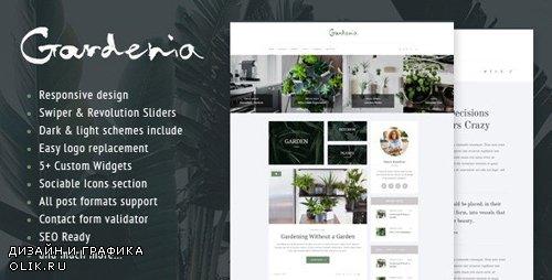 ThemeForest - Gardenia v2.1.2 - A Stylish Gardening Personal Blog WordPress Theme - 12491299
